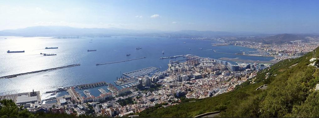 Rock of Gibraltar Panorama