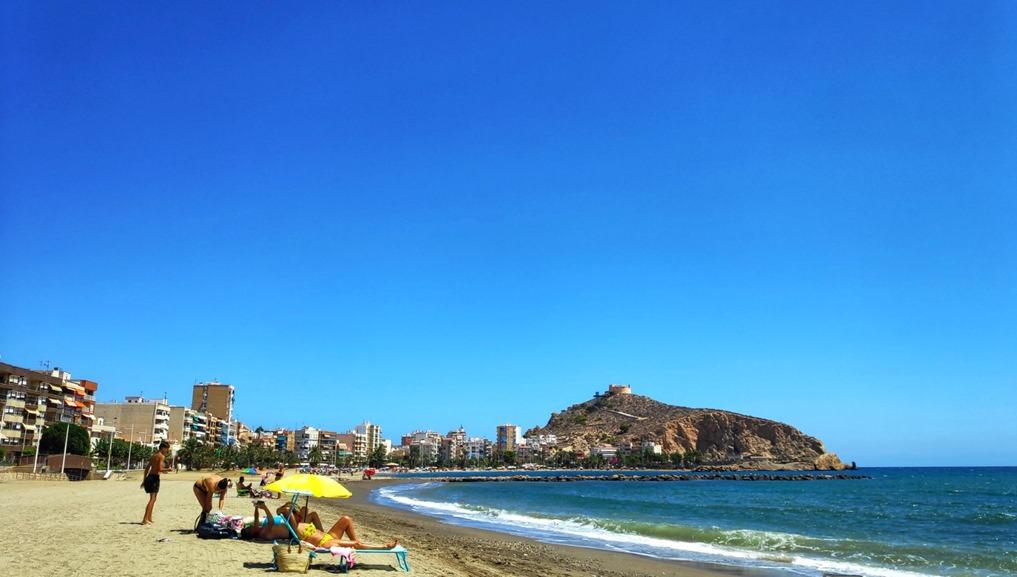 Beach at Aguilas